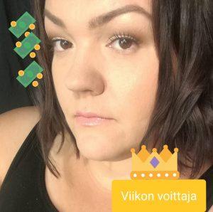 Viikon voittaja Anne Lundgren