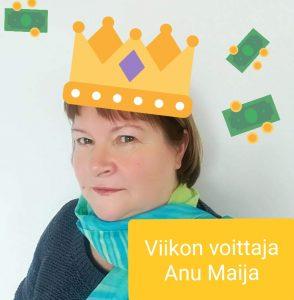 Viikon voittaja Anu Maija