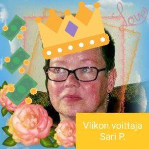 Viikon voittaja Sari Pyyhtiä