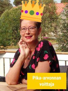 Pika-arvonnan voittaja Sari A.