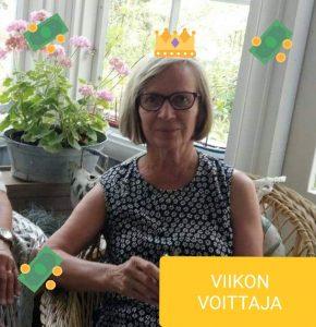 Viikon voittaja Eeva-Liisa T
