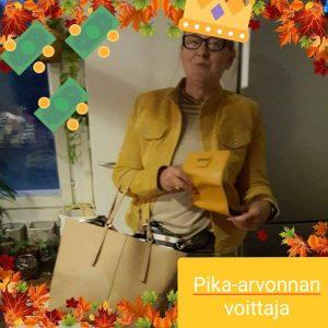 Pika-arvonnan voittaja Maritta N.