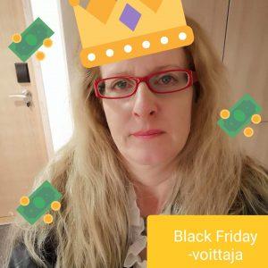 black friday voittaja Anna K