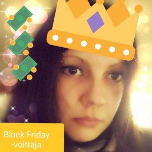 black friday voittaja Riikka L