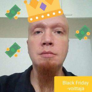 black friday voittaja jari k