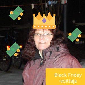 black friday voittaja rauni hägg