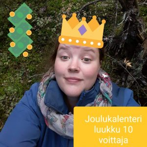 Joulukalenteri luukku 10 voittaja Eeva K.jpg