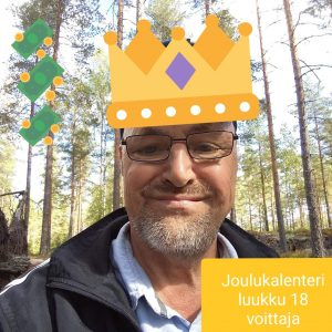 Joulukalenteri luukku 18 voittaja Seppo V.jpg
