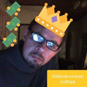 Viikon voittaja Juha T.