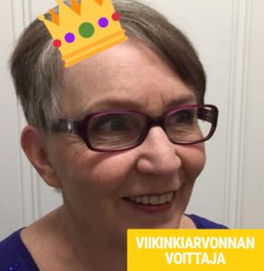 viikinarvonnan voittaja maire-kaarina h