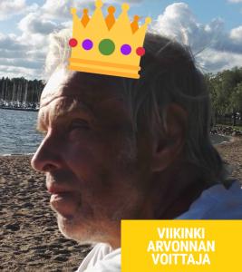 viikinkiarvonnan voittaja pentti u